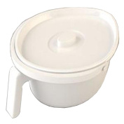 Spare Standard Oval Pan for the Zenith Bariatric/Heavy Duty Commode