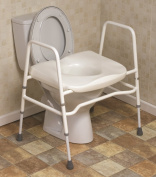 Mowbray Extra Wide Toilet Seat & Frame - Free Standing