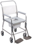 NRS Footrests for use with NRS Portable Shower, Commode and Over Toilet Chair
