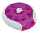 Aidapt Compact Weekday Pill Dispenser Pink