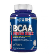 USN BCAA Syntho Stack Essential Amino Acid Stack Protein Synthesis and Testo Booster - Tub of 120