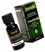HealthAid Geranium (Pelargonium graveolens) Oil 10ml