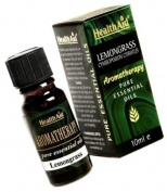 HealthAid Lemongrass (Cymbopogon citratus) Oil 10ml
