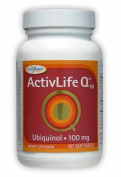 Enzymatic Therapy Activlife Q10 Ubiquinol 100Mg - 60 - Softgel