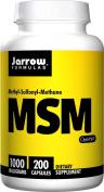 Jarrow Formulas MSM Sulphur, 1000mg, 200 Capsules