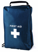 First Aid Bag Scandi Bags Empty - Blue 24mm (H) x 14cm (W) x 9cm