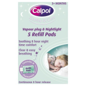Calpol Vapouriser Night Plug In Refills - 5 Pads