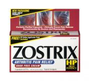 Zostrix High Potency , Arthritis Pain Relief, Odour Free Cream, 60ml (56.6 G) Tube