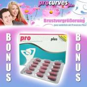 Procurves Plus 60 pcs. - Breast enlarger for a bigger Breast