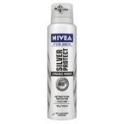 Nivea For Men Silver Protect Anti-Perspirant Deodorant 150 ML Alcohol Free