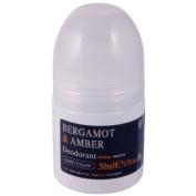 Bath House Bergamot & Amber Roll On Deodorant for Men 50ml