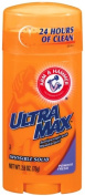 Arm & Hammer Ultramax Deodorant and Antiperspirant Invisible Solid, Powder Fresh, 80ml Stick