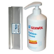 GEHWOL GERLACH Med Deodorant foot cream kit / Large Salon Size 0,5L 500ml / Largest on Amazon / Comes with preserving pack / Professional foot care product / Can be used by everyone, not just professionals / Dermatologically tested / Made ..