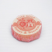 Honey & Beeswax Soap (Rose)