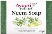 Ayuuri Ayurvedic Herbal Natural Neem Soap 100g