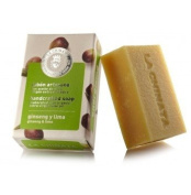 Hand crafted soap Ginseng & Lime