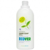 Ecover Liquid Soap Hand Wash Refill with Moisturisers Environmentally-friendly 1 Litre Ref VEVHSR