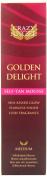 Crazy Angel Golden Delight Self-Tan Mousse for A Sun-Kissed Medium Glow 200ml