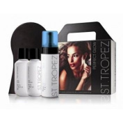 St Tropez Perfect Glow Set - Step 1, 2 and 3 with self tanning mousse.