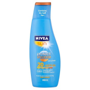 Nivea Sun Protect & Bronze Sun Lotion SPF20 200 ml