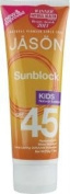 Jason Sunbrellas Natural Sun Care Kids Sunblock SPF45