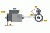 Bosch 0986016031 Starter