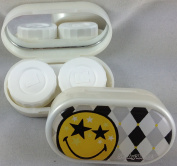 Smiley World Mirror Contact Lens Storage Cases - 15 Designs Available