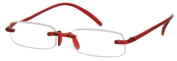 Sunoptic R69A Red Memo Flex Reading Glasses - Strength +1.00 Incl. Case