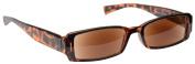 UV Reader UVSR003 Sun Readers Reading Sunglasses UV400 Protection Tortoiseshell Strength 1.0 Including Protective Case