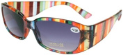 About Eyes SR364 Multicolour 400 UV Protection Sunreaders - Strength + 1.00 with Pouch