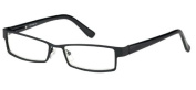 Sunoptic OR53 Strength +3.00 Reading Glasses with Case Matt Black