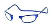 Reading Glasses Clic front connexion glasses Blue-strength +1.00