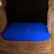Comfortnights® Blue Absorbent Chair Pad(wheelchair pad) 50cms x 40cms