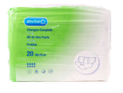 Alvita Incontinence Absorbent Pants Medium Night - Pack of 14