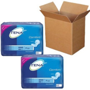 Tena comfort Plus shaped incontinence pads Bulk Buy carton 92