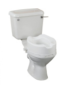 "Raised Toilet Seat 10cm/4"" Without Lid"