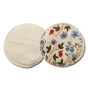Sckoon Organics Breastfeeding Pads Made Of Certified Cotton - Gardenia