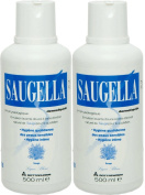 Saugella Dermoliquid 2 x 500ml