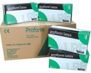 Proform Latex Powder-Free Gloves Large 5 x 100