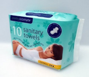 Pretty Intimate 10 Sanitary Towels - Normal