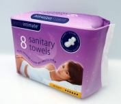 Pretty Intimate 8 Sanitary Towels - Night
