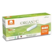 Organyc Tampons Super Plus 100% organic cotton - PRAR00990