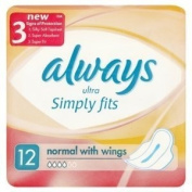 Always Ultra simply fits Normal with Wings £1 Only