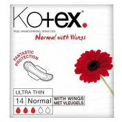 Kotex Ultra Towels Normal Plus 14