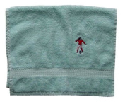 Hand Towel with Embroidery football