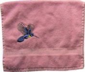 Hand Towel with Embroidery Kolibri