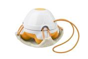 Medisana Mini Bath Massager with Loofah Pad Orange