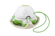 Medisana Mini Bath Massager with Loofah Pad Green