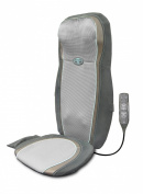 Homedics 2-in-1 Gel Shiatsu Back and Shoulder Massage Cushion with Technogel Massage Nodes