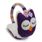 Aroma Home Click and Heat Knitted Animal Cosy Owl Ear Muffs